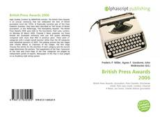 Bookcover of British Press Awards 2006