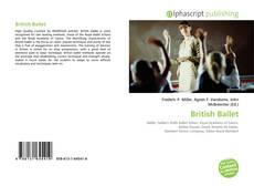 Capa do livro de British Ballet