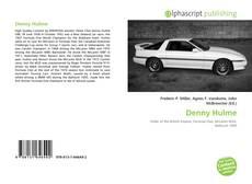 Denny Hulme的封面