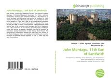 Capa do livro de John Montagu, 11th Earl of Sandwich