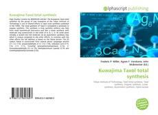 Portada del libro de Kuwajima Taxol total synthesis