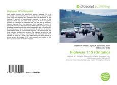 Обложка Highway 115 (Ontario)