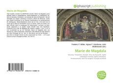 Bookcover of Marie de Magdala