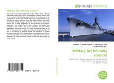 Capa do livro de Military Art (Military science)