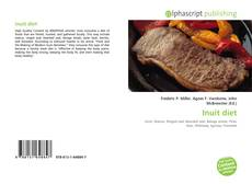 Bookcover of Inuit diet