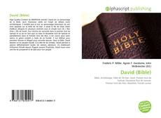 Capa do livro de David (Bible)