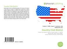 Bookcover of Country Club District