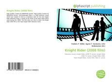 Buchcover von Knight Rider (2008 film)