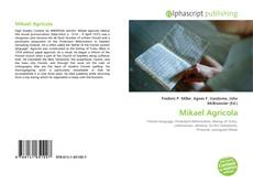 Bookcover of Mikael Agricola