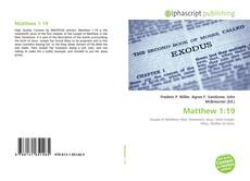 Bookcover of Matthew 1:19