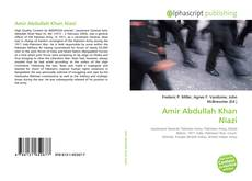 Amir Abdullah Khan Niazi的封面