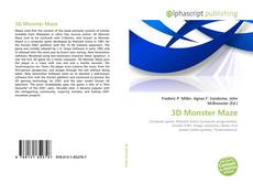 Bookcover of 3D Monster Maze