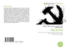 Buchcover von Bloc de l'Est