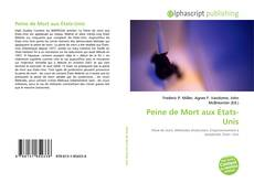 Buchcover von Peine de Mort aux États-Unis