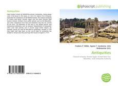 Antiquities kitap kapağı