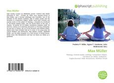 Bookcover of Max Müller