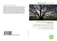 Garibaldi Provincial Park kitap kapağı
