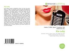 Bookcover of Kia Luby