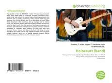 Portada del libro de Holocaust (band)