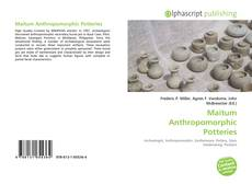 Capa do livro de Maitum Anthropomorphic Potteries