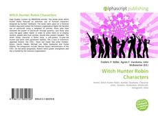 Bookcover of Witch Hunter Robin Characters