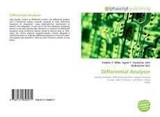 Differential Analyser kitap kapağı