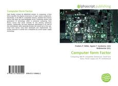 Bookcover of Computer form Factor