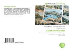 Abraham Whistler kitap kapağı
