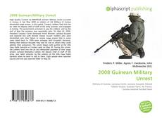 Bookcover of 2008 Guinean Military Unrest