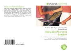 Capa do livro de María José Martínez Sánchez