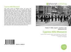 Portada del libro de Cypress Hills Massacre