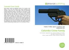 Colombo Crime Family kitap kapağı