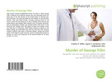 Bookcover of Murder of George Tiller