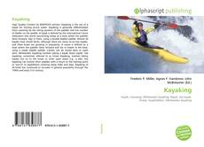 Bookcover of Kayaking