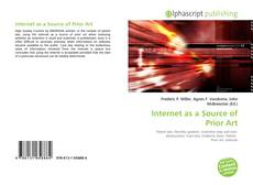 Capa do livro de Internet as a Source of Prior Art