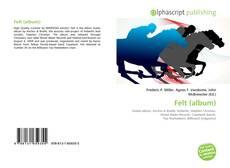 Обложка Felt (album)