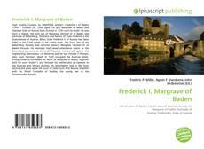 Buchcover von Frederick I, Margrave of Baden