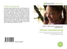 Cellular manufacturing kitap kapağı