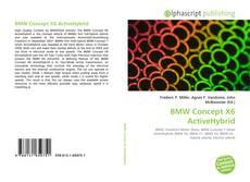 Couverture de BMW Concept X6 ActiveHybrid
