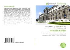 Bookcover of Heinrich Köhler
