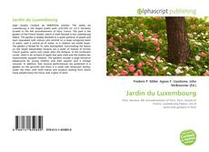 Bookcover of Jardin du Luxembourg