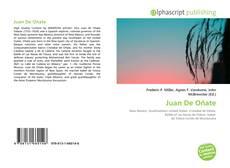 Bookcover of Juan De Oñate