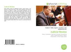 Bookcover of Judicial Review