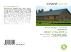 Portada del libro de Décret de l'Alhambra