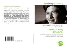 Borítókép a  Democrat Party (Thailand) - hoz