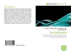 Paul Splingaerd的封面