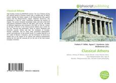 Bookcover of Classical Athens