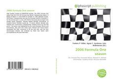 Capa do livro de 2006 Formula One season