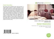 Buchcover von Kaiser Associates