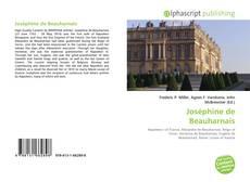 Bookcover of Joséphine de Beauharnais